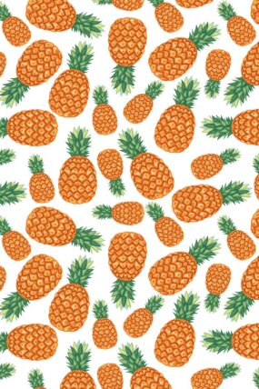KW02  Tea Towel Pineapple
