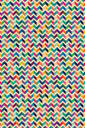KW09  Tea Towel  Chevron