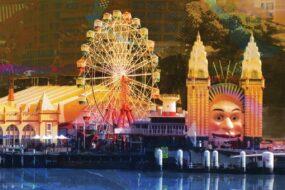 N08 Post Card Luna Park