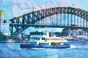 N10 Post Card Ferry