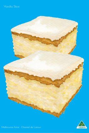 Vanilla Slice Cyan