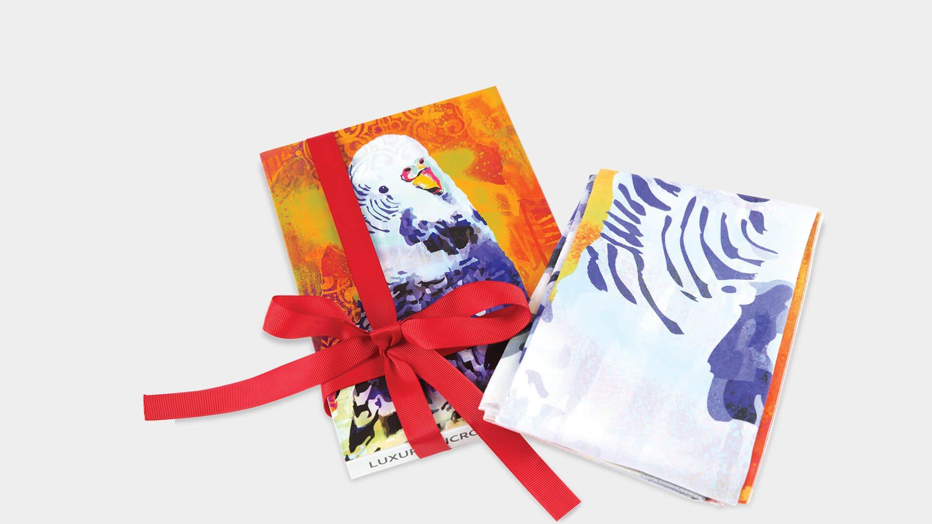 Christmas Tea Towel Gift Box