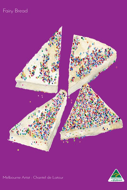 TRAVEL TOWEL FAIRY BREAD VIOLET