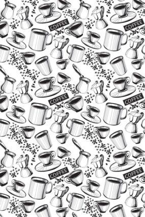 TRAVEL TOWEL COFFEE WHITE