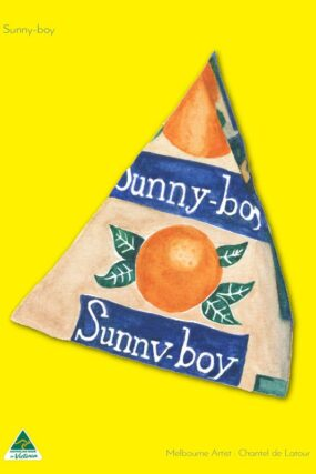 TRAVEL TOWEL SUNNYBOY HOT YELLOW
