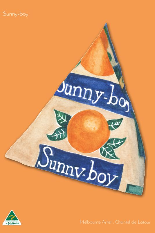 TRAVEL TOWEL SUNNYBOY ORANGE