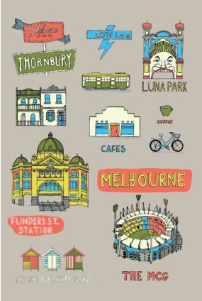 MELBOURNE-COLLAGE