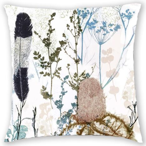 CUSHION COVER - FEATHER & BANKSIA
