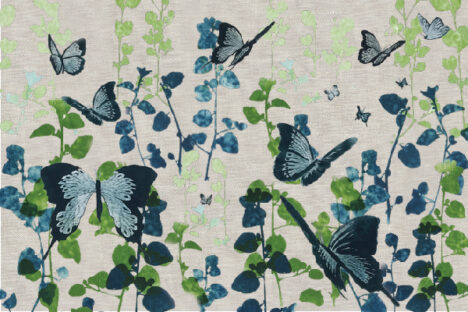 PLACEMAT SET BUTTERFLY