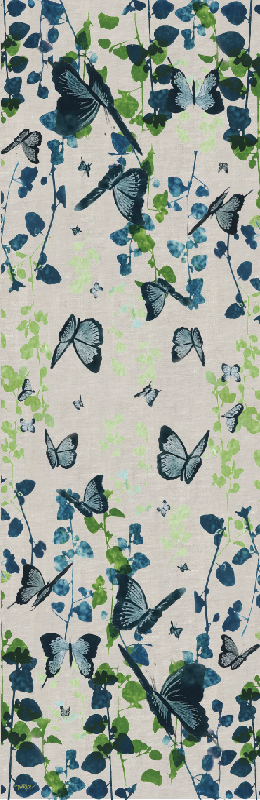TABLE RUNNER BUTTERFLY (WIDE)