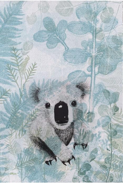 TEA TOWEL - KOALA